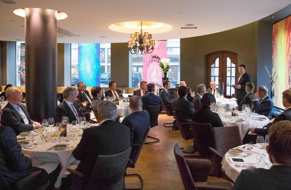 Ratas tõstis Norra investoritele esile Eesti e-riiki, nutikaid ettevõtjaid ja lihtsat ärikeskkonda