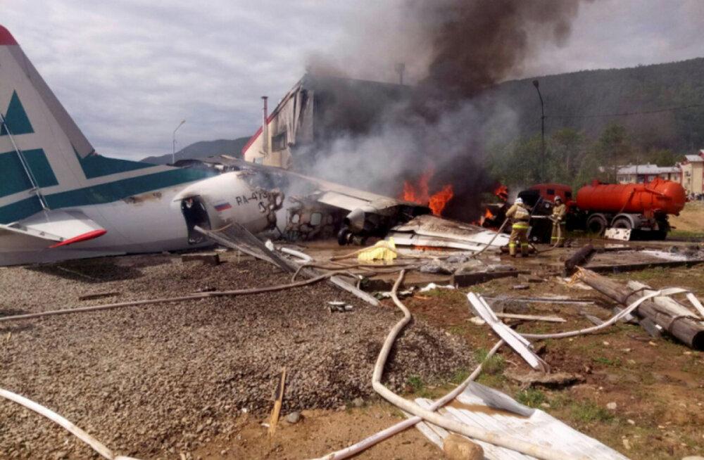 Lennuõnnetus Ida-Siberis.