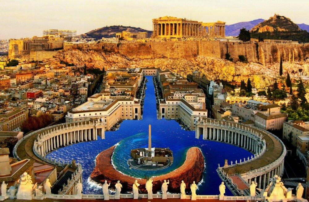 Hea hind! Edasi-tagasi otselennud Tallinnast Euroopa kultuuri hälli Ateenasse alates 87 eurost