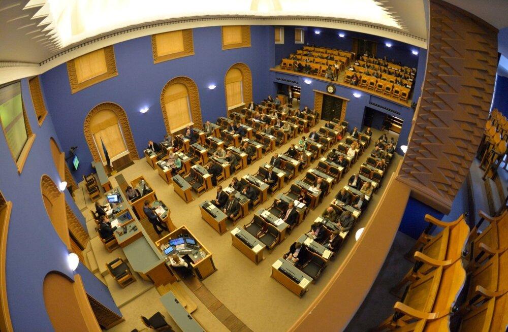 Riigikogu arutas riigivalitsemise reformi sisu ja läbiviimist