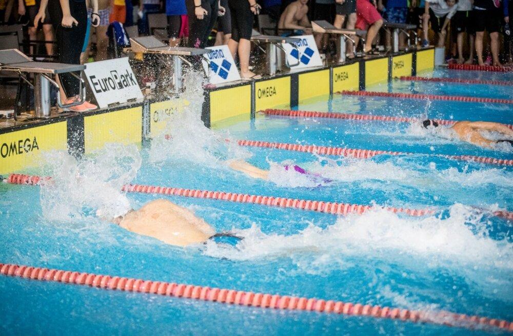 Ujumise Eesti meistrivõistlused Kalev SPA-s
