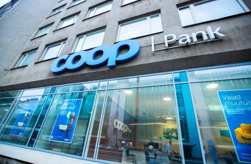 Coop Pank отменил плату за досрочный возврат малых кредитов