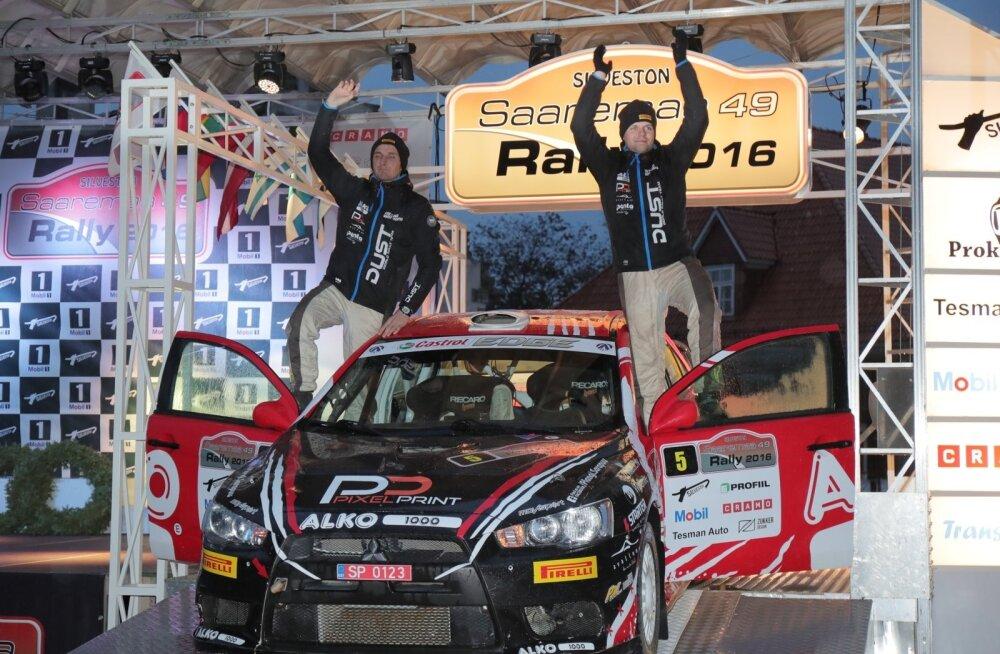 FOTOD: Siim Plangi ja Marek Sarapuu võitsid 49. Saaremaa ralli