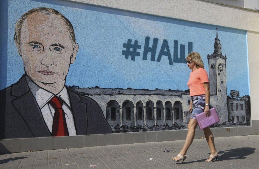 Küsitlus: Krimmi hõivamine on venemaalaste jaoks suurem uhkuseallikas kui kosmose hõlvamine