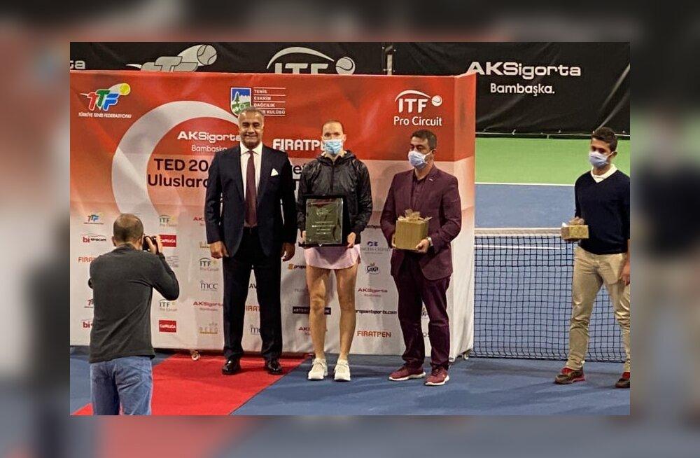 Kaia Kanepi võitis Istanbulis karjääri 17. ITF-i tiitli!