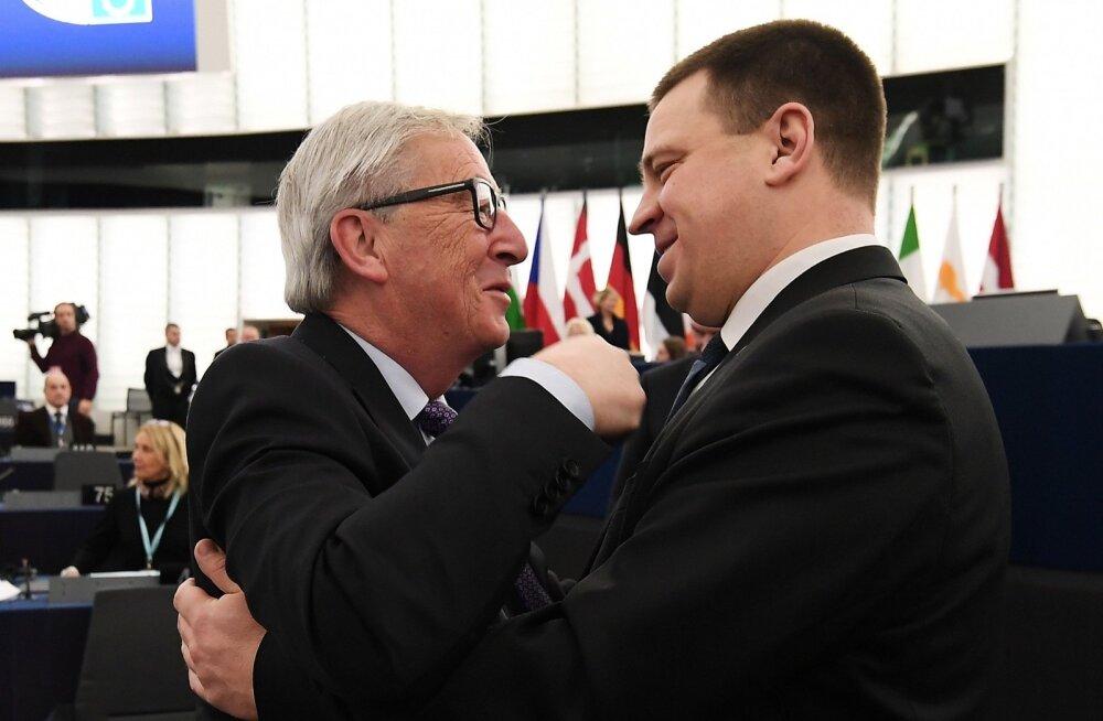 VIDEO | Juncker tänas Eestit suurepärase, väga eduka ja väga euroopaliku eesistumise eest