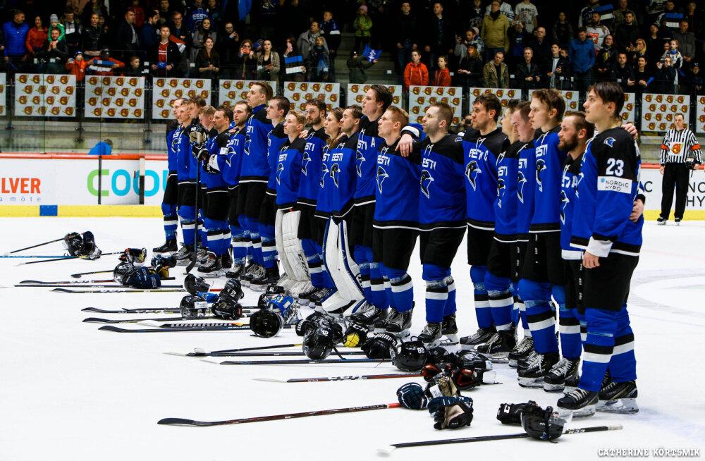 Eesti jäähokikoondis valmistub olümpiamängude kvalifikatsiooniturniiriks