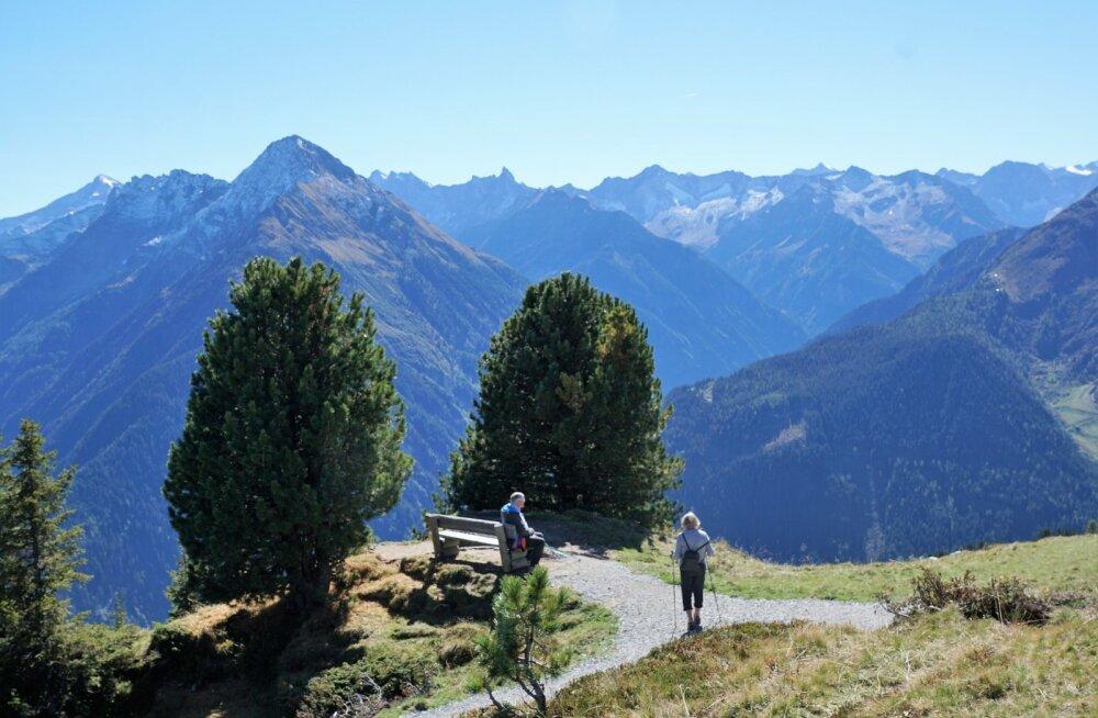Juba homme! Reisihommik kutsub Austria Alpidesse