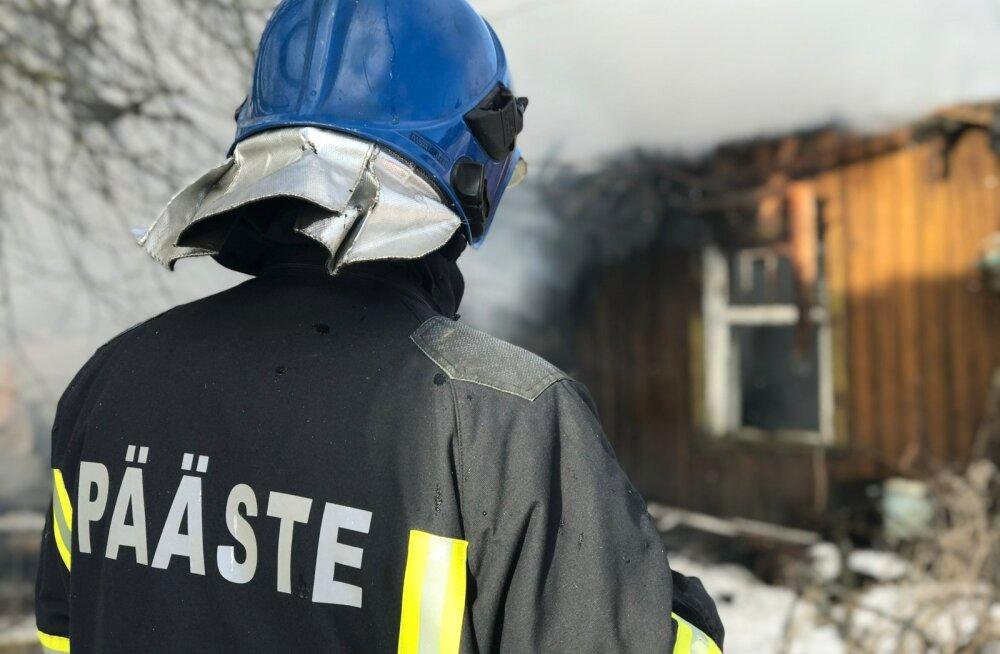 Orgmetsa külas põles elumaja