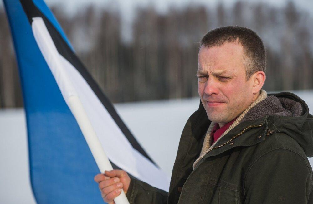 Kaupo Kutsar võitleb selle eest, et Eesti lipu märk oleks peal vaid kodumaisest toorainest toidukaubal