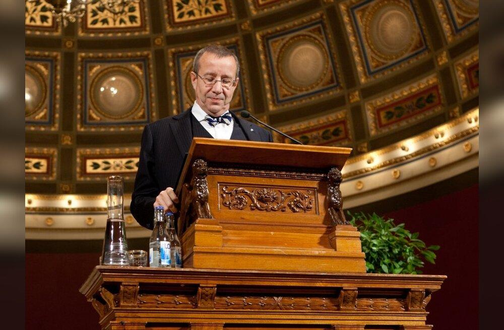 FOTOD: President pidas Uppsala ülikoolis loengu