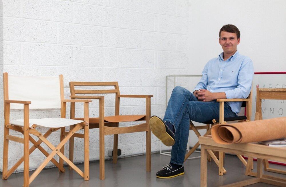 Noore disaineri auhinna mullu endale napsanud Aap Piho astub oma indie-firmaga rahvusvahelisele disainerimööbli turule.
