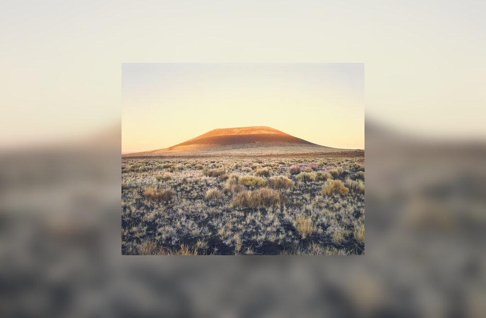 Vulkaan kui kunstiteos: tulge tulemäe kraatrisse valgust imetlema!