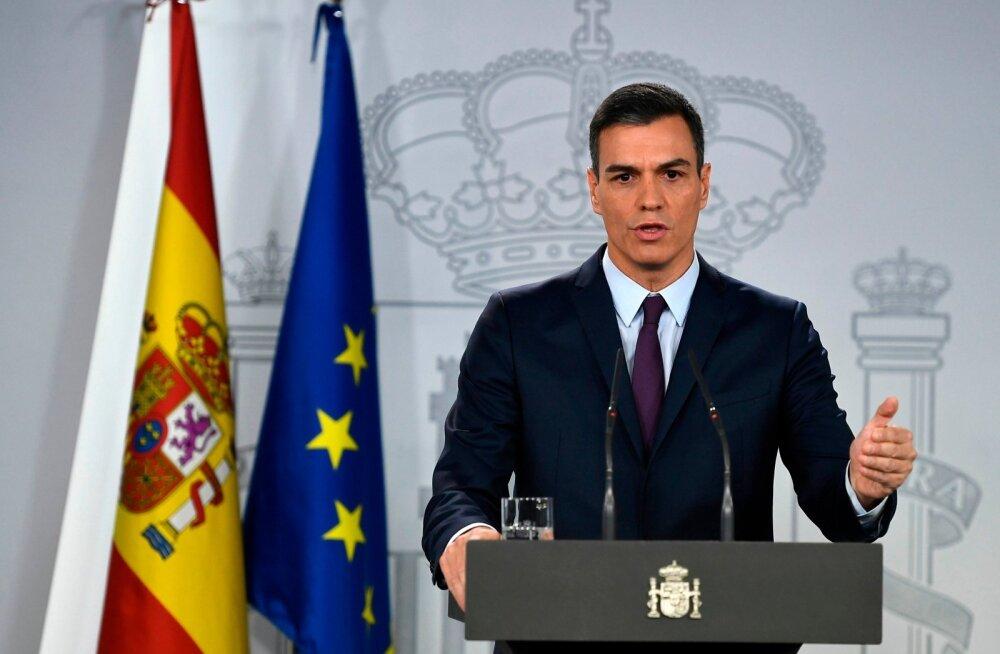 Hispaania peaminister Sánchez kuulutas välja ennetähtaegsed parlamendivalimised
