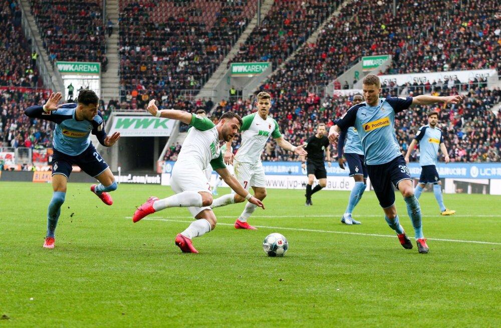 Bundesliga jalgpall Borussia vs Augsburg