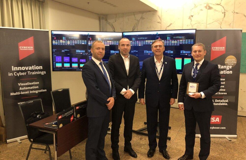 CybExer Technologies pälvis Berliinis NATO auhinna