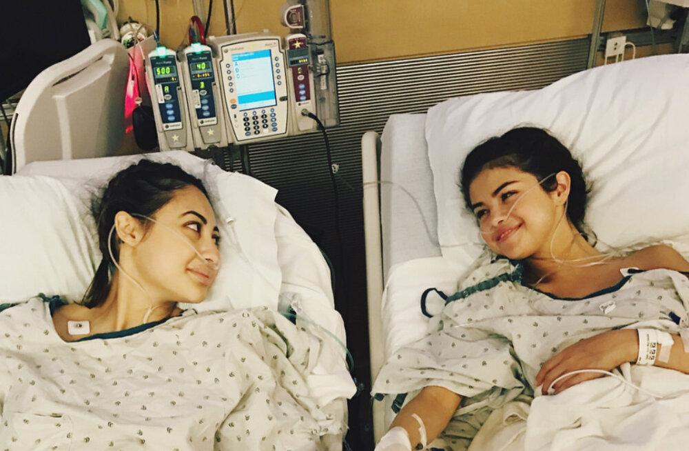 FOTOD | Kaunis žest! Lähedane sõbranna kinkis rasket haigust põdevale Selena Gomezile oma neeru