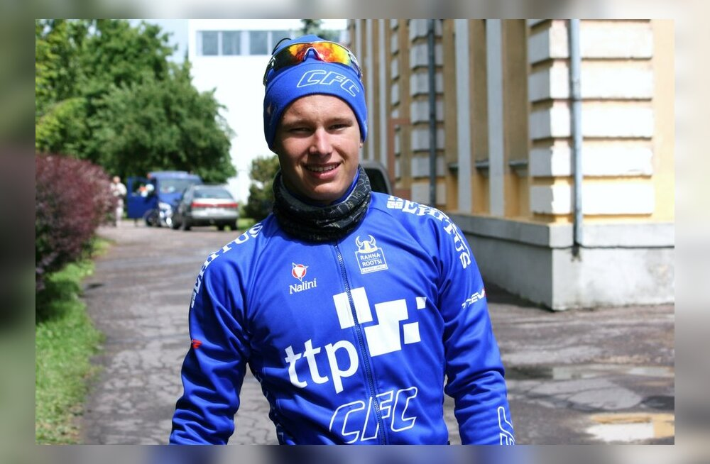 Oskar Nisu, jalgratas