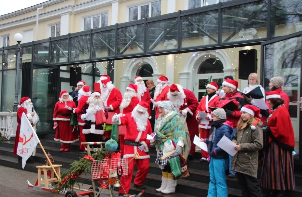 ФОТО | Отепя принял титул зимней столицы Эстонии