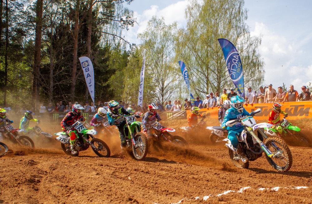Motokrossi Eesti meistrivõistlused saavad alguse juulikuus