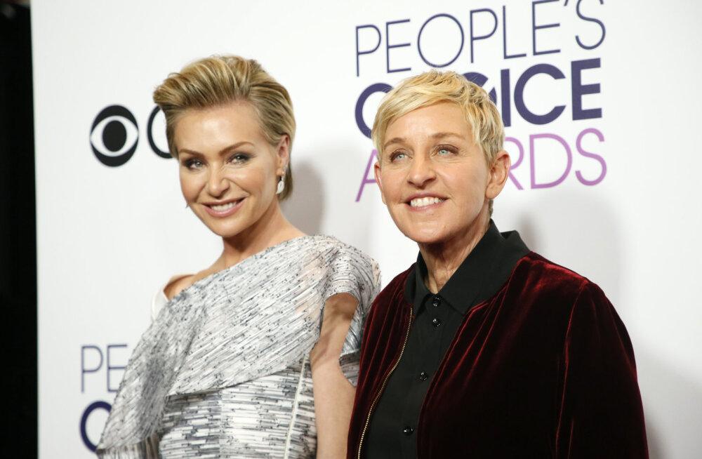 Kohutav! Ellen DeGeneresi ja tema elukaaslase Portia de Rossi koju murti sisse