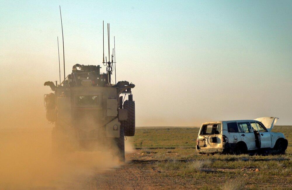 USA juhitav koalitsioon peatas tegevuse Iraagi aladel. Otsus puudutab nüüd ka eestlasi