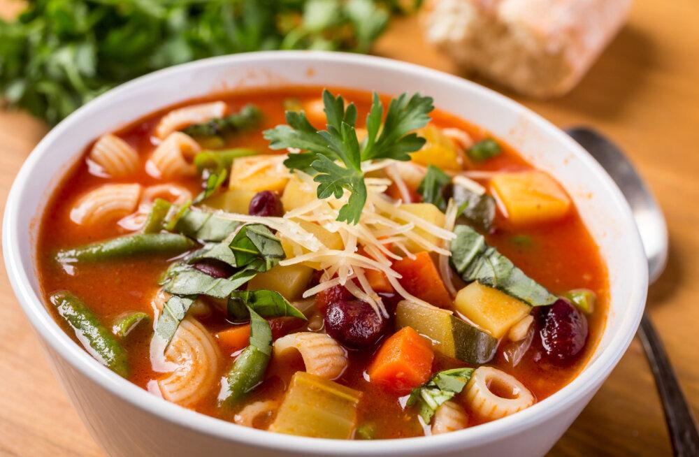 Kõhule pai: supp soodustab seedimist ja toitainete imendumist
