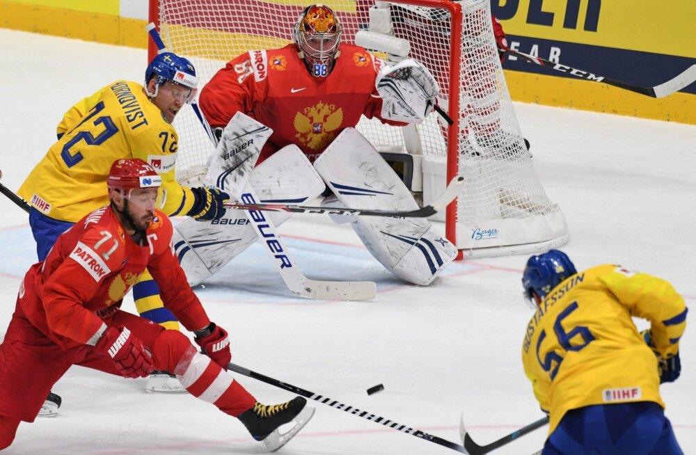 Jäähoki MM-il Venemaa - Rootsi