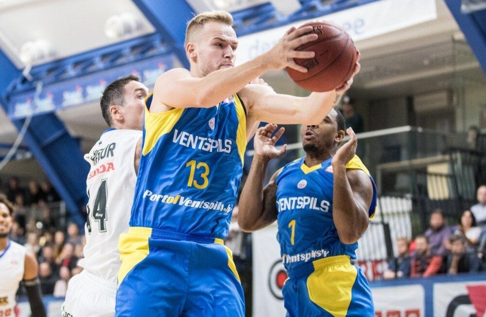 Korvpall: Kalev/Cramo vs Ventspils