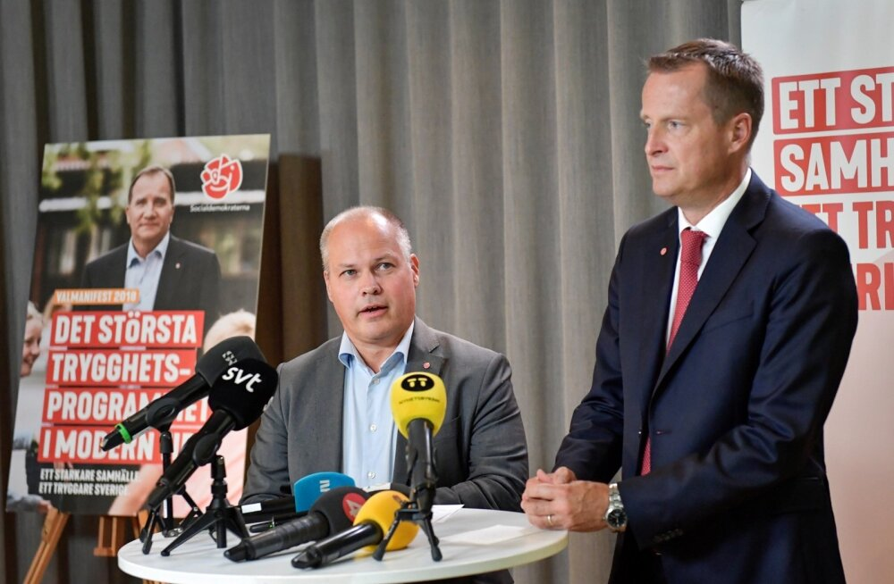 Rootsi sotsiaaldemokraadid kutsuvad üles blokipoliitikast loobuma
