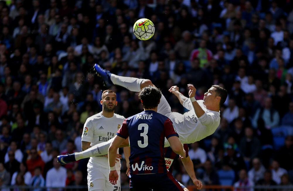 Ronaldo jõudis kuuendat hooaega järjest 30. liigaväravani