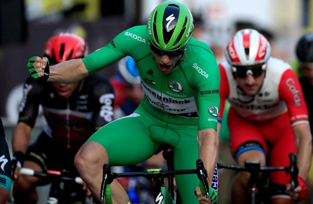 Mihkel Räim tuli Vuelta neljandal etapil esikümnesse, Giro d'Italial oli skandaalne päev