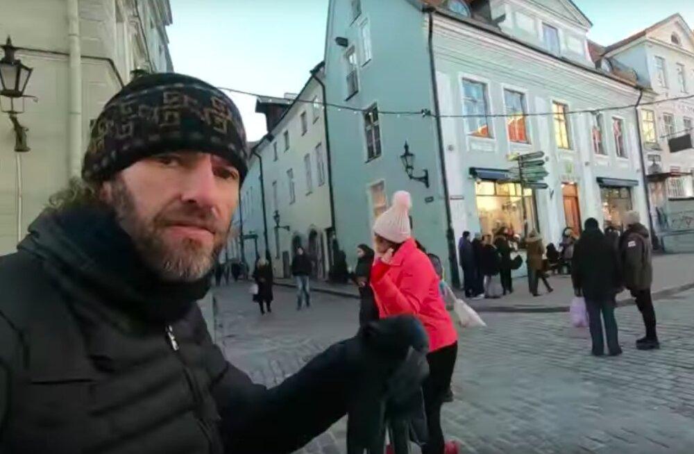 VIDEO | USA maailmaränduri ja reisikirjaniku Gabriel Morrise muljed Eestist