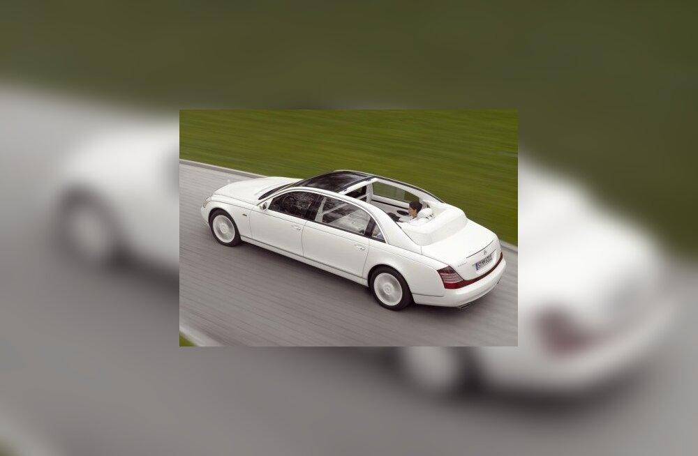 Katuseta Maybach Landaulet meenutab vanu autoaegu