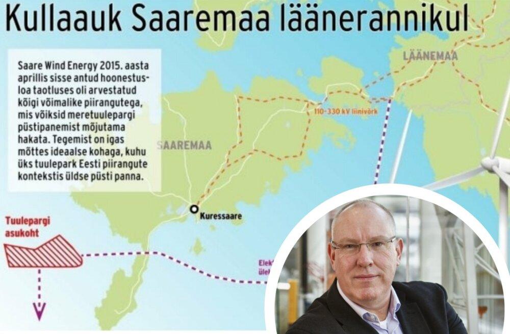 """Eesti esimene meretuulepark võib valmida hollandlaste abiga. """"See investeering on liiga suur, et nalja pärast proovida."""""""