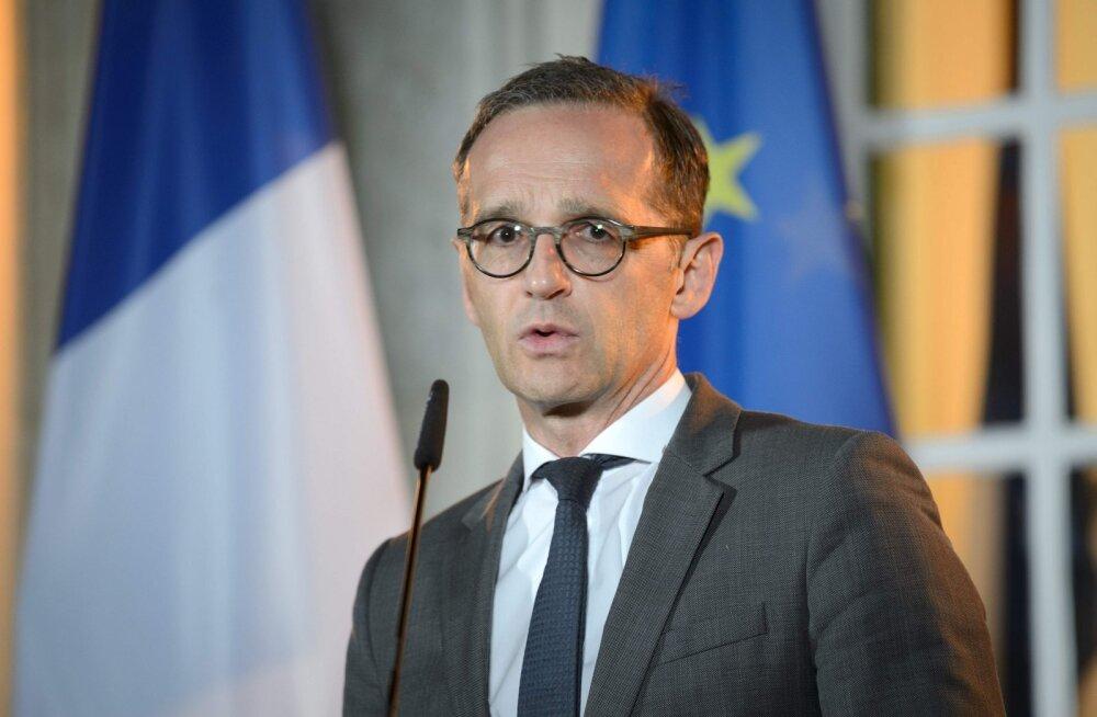 Saksa välisminister: kui USA meie huvisid eirab, peab Euroopa hakkama jõuliselt reageerima
