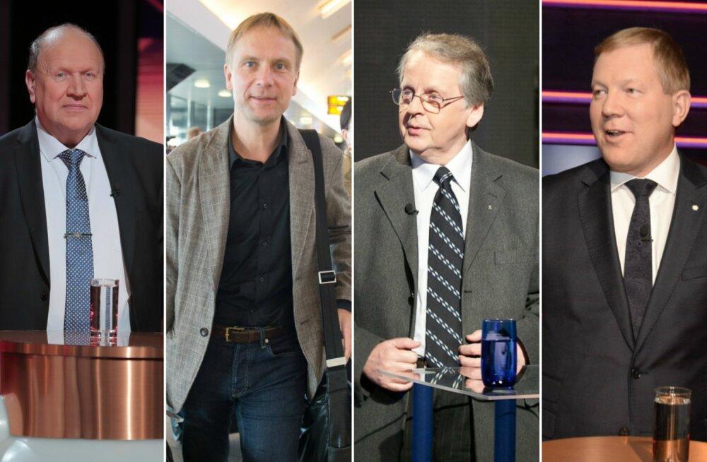 Mart Helme, Eerik-Niiles Kross, Enn Eesmaa, Marko Mihkelson
