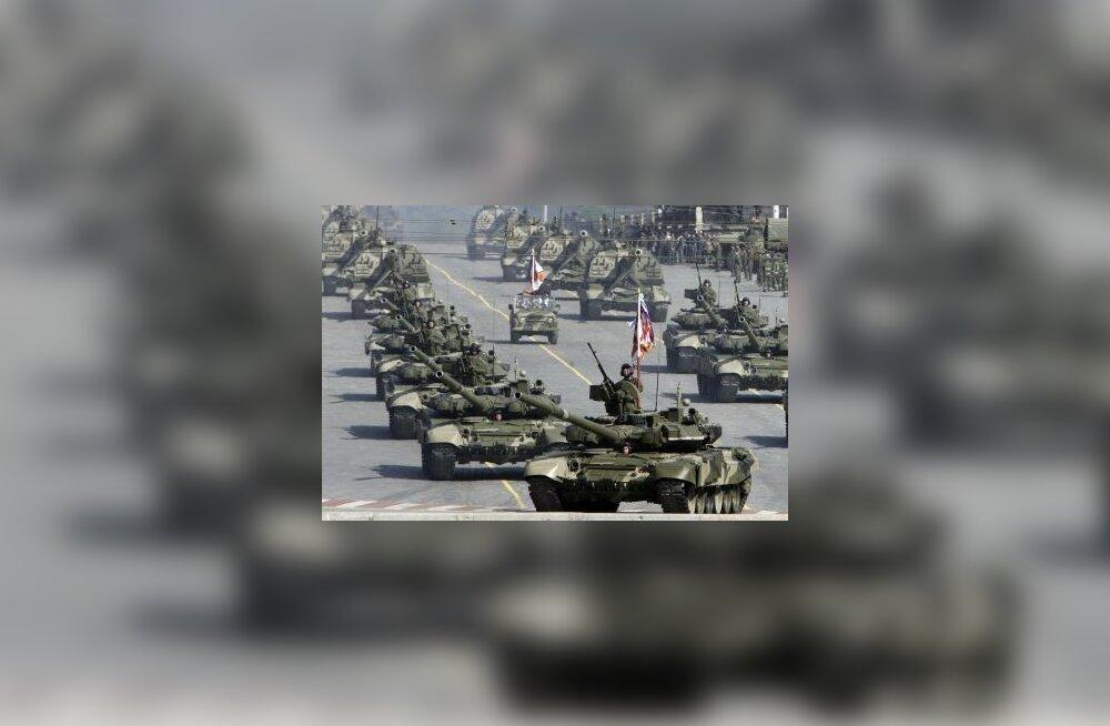 Moskva, vene, tank, paraad