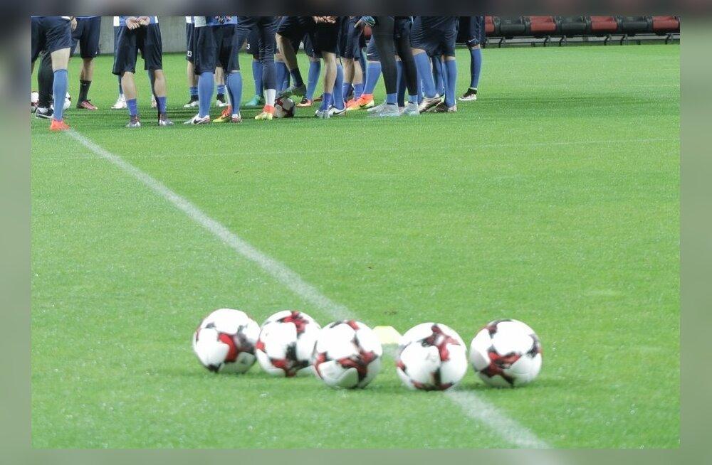 0a599f4dc17 Jalgpalli teise liiga põnev lõpp: Nõmme United minetas nii 4:0 ...