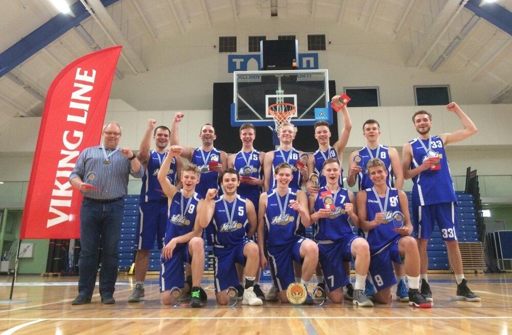 Tallinna korvpallimeister Keila KK meeskond