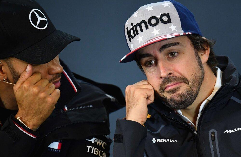 BBC avalikustas, kuidas Alonso üritas 2007. aastal McLarenit panna toonast tiimikaaslast Hamiltoni saboteerima