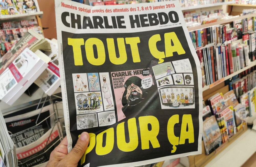 Pariisi pussitaja tunnistas, et soovis rünnata satiiriajakirja Charlie Hebdo toimetust