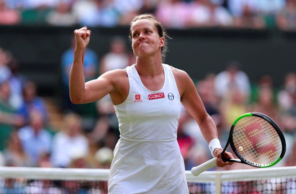 Barbora Strycova on Wimbledonis jõudnud poolfinaali.