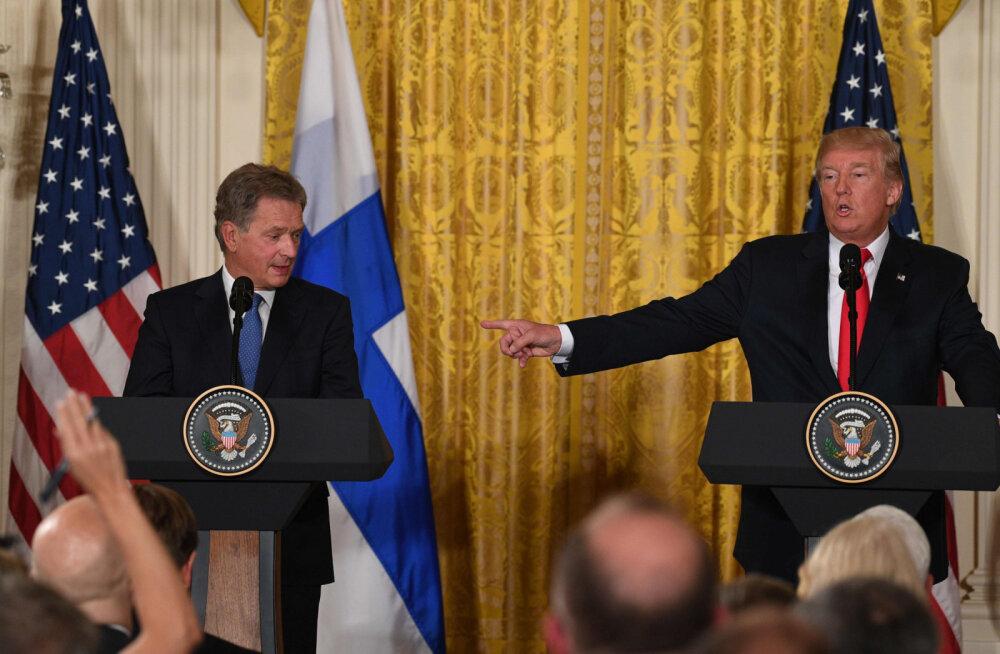 Sauli Niinistö kohtub tuleval kuul Washingtonis Donald Trumpiga