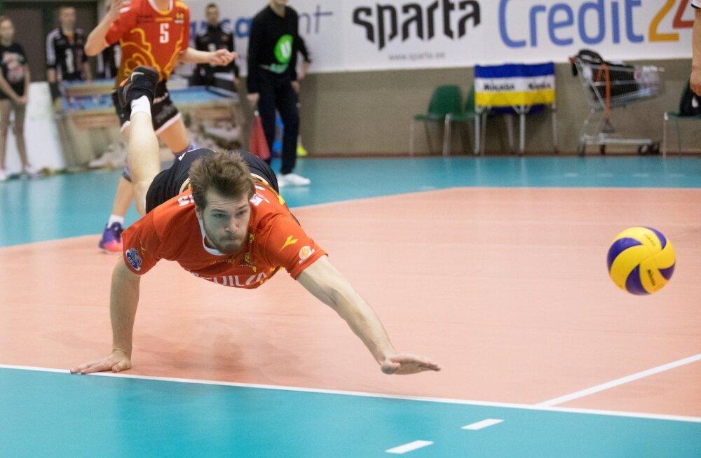 Võrkpall Selver vs Pärnu karikas