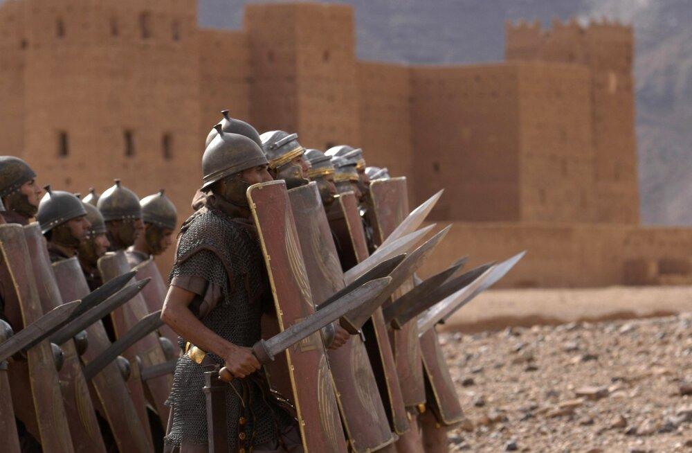 """Kaader doksarjast """"Vana-Rooma. Impeeriumi tõus ja langus""""."""