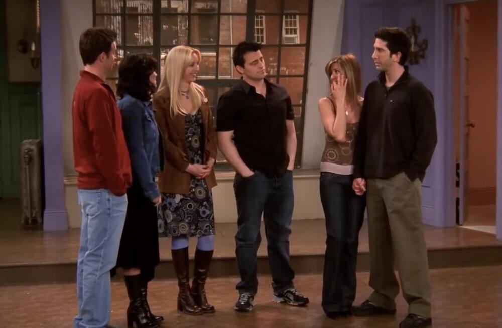 """10 aastat järjest sama toit! Saa teada, mida sõid hittsarja """"Sõbrad"""" näitlejad iga päev lõunaks"""