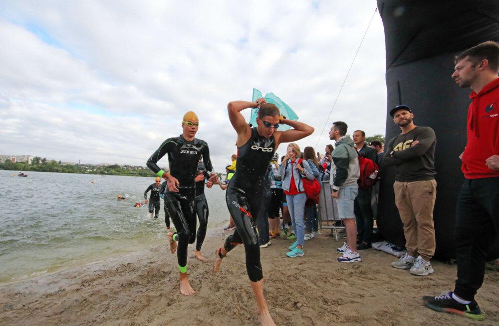Eestis toimuma pidanud Euroopa meistrivõistlused triatlonis tühistati koroonaviiruse tõttu