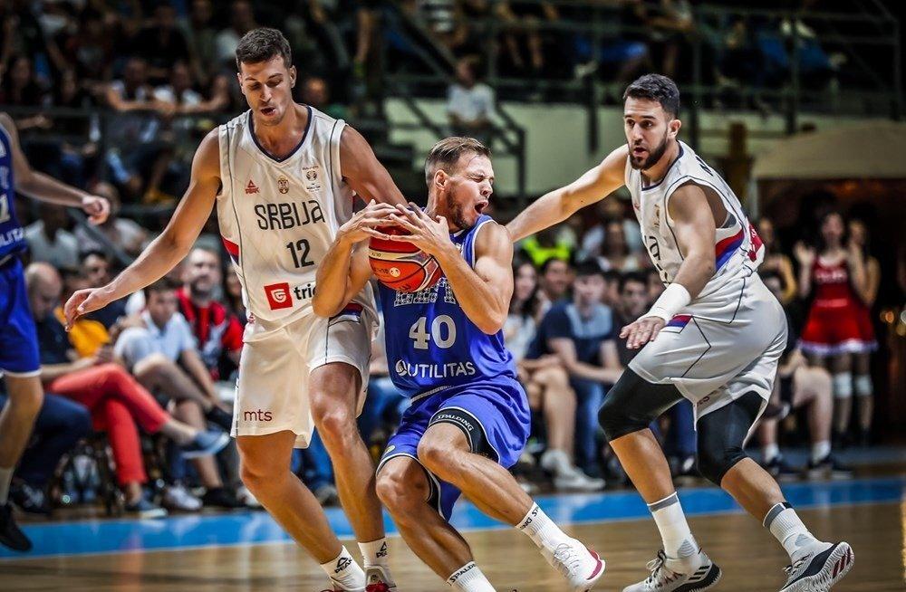 Eesti korvpallikoondis vs Serbia
