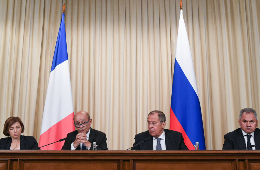 Prantsusmaa välisminister: on tulnud aeg lõdvendada pingeid Venemaaga
